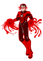 Red Lantern Jason Todd by Cera-Tay
