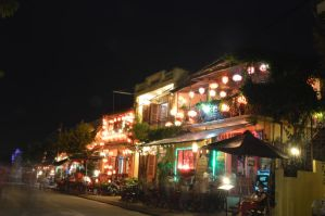 Home in night form HOI AN - VIETNAM by ducngoc121
