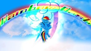 Rainbow Dash Wallpaper by Macgrubor