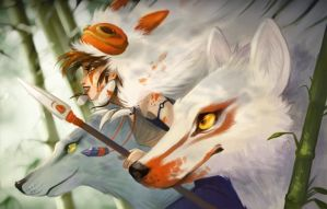 Mononoke-Hime by Flying-Fox