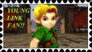 Young Link Fan Stamp by RamosisMario89