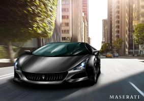 Maserati Merak 2020 Coupe City by toyonda