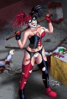 Harley Quinn Monster by Shouhda