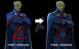 Martian Manhunter by daniel-morpheus