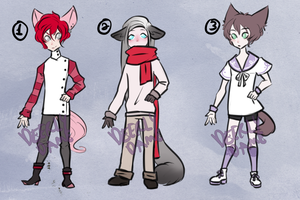 Kemonomimi Adopts [CLOSED] by DeerlyDame