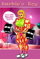 muscle Barbie2 by e19700