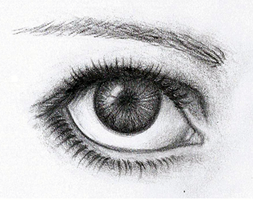 detailed eye drawing by Lee-chan97