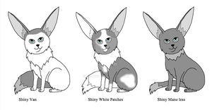 Eevee Variations part 4 by Bwabbit