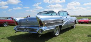 BUICK RoadMaster 75,Duxford, spring car show, by Sceptre63
