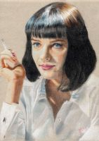 Mia Wallace (Pulp Fiction) by Voorhees87