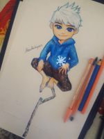 Chibi Jack Frost by AlexiaRodrigues