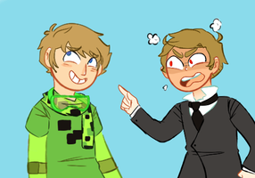 Ryan And Gavin by SauceMania