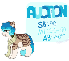 Scarf cat w/rad hair AUCTION . : Ends Wednesday! : by Pinelattee