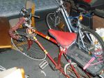 Reconstructed Bike seat by fadedoak-craft