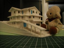 Baby Lamb and house model 3 by MelodicInterval