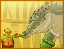 How To Train Your... Leatherhead? by TheColdSoulArts