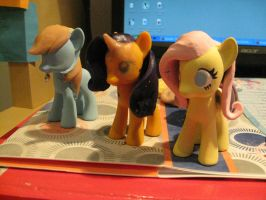Ponies In Progress by Amandkyo-Su