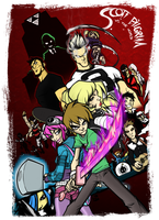Scott Pilgrim vs. The World by theDisappointment