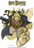 Here be Stupid dragons by Xss-