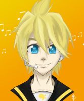 Kagamine Len by Midna-hime