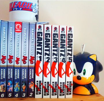 Manga Collection Part 7 by Trinity-DBZ