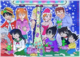 MERRY CHRISTMAS FROM MANGAS by crazybulma