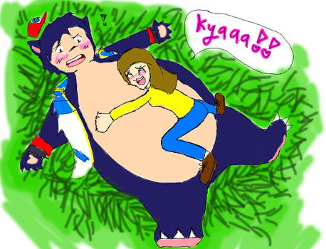 Ash the Snorlax! by Mpreggy-MMJ