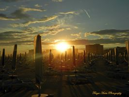 Sunset in Bibione 2 by AnitaBright