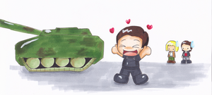 Becker gets a Tank by LeniProduction
