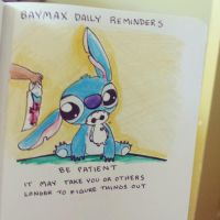 BAYMAX DAILY REMINDERS: Be Patient by peore