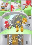 Knuckles: Skeletons in the Closet (Part 2: Page 4) by shamethedawg