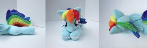 Squeaker Dash Rainbow Dash May Commission by CatNapCaps