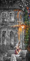 ANIMAL TOWN 1  Limited edition giclee by Leonidafremov