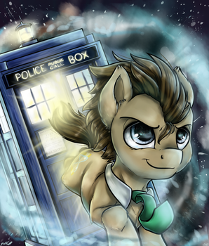 Doctor Whooves by GaelleDragons