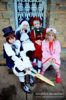 Rozen Maiden Group:::: by Witchiko