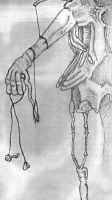 Hanging Hand by Dark-Zomby
