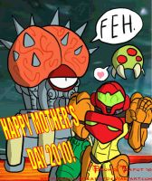 Moms of Metroid by BrokenTeapot