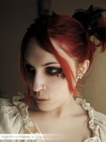 Emilie Autumn make-up by Nighttime-Wishes