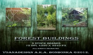 Forest Buildings by bonbonka