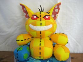 Malevolent Sentient Poogle Plushie by Kiilani