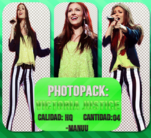 Photopack png 001. Victoria Justice by Manuuselena