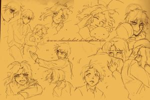APH: Storm sketches by claudiakat