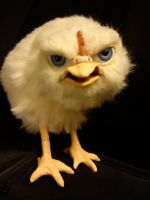 scabby chick by BellaSofran