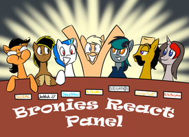 Bronies React Panel Fan Art by MysteryFanBoy718