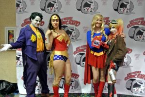 Comic Expo: Fun With Friends. by kay-sama