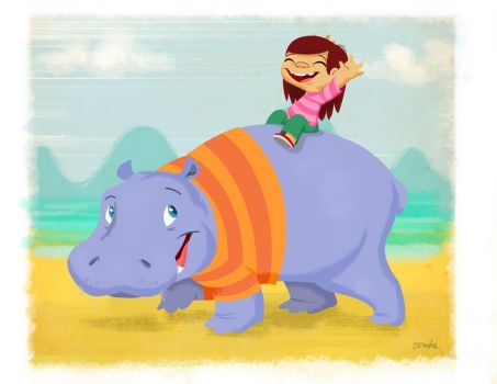 My Hippo by theKartoonKid