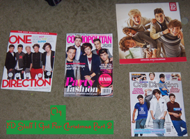 My 1D Stuff I Got For Christmas Part 2 by iluvlouis