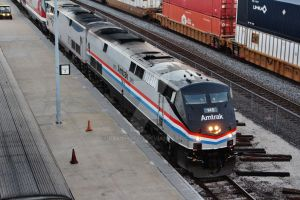 AMTK 145 + AMTK 42 on SW Chief. by Railphotos