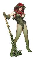 Poison Ivy Statue Design by AdamHughes