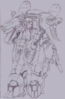 Mech Pilot Original by Savion